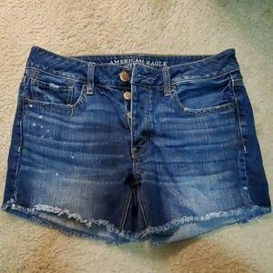 NWOT Women's American Eagle Jean Shorts